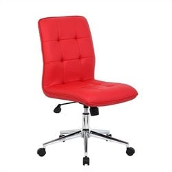 Boss Office Products Modern Office Chair in Red
