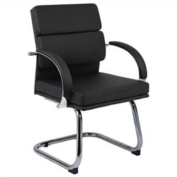 Boss Office Products Caressoftplus Executive Chair in Black