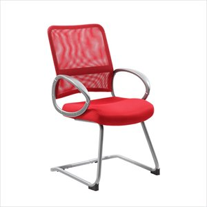 Boss Office Mesh Back Guest Chair