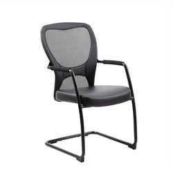 Boss Office Mesh Guest Chair in Black