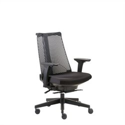 Boss Office Contemporary Executive Office Chair in Black