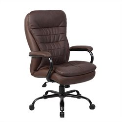 Boss Office Heavy Duty Chair in Bomber Brown
