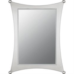 Quoizel Jasper Small Mirror in Brushed Nickel