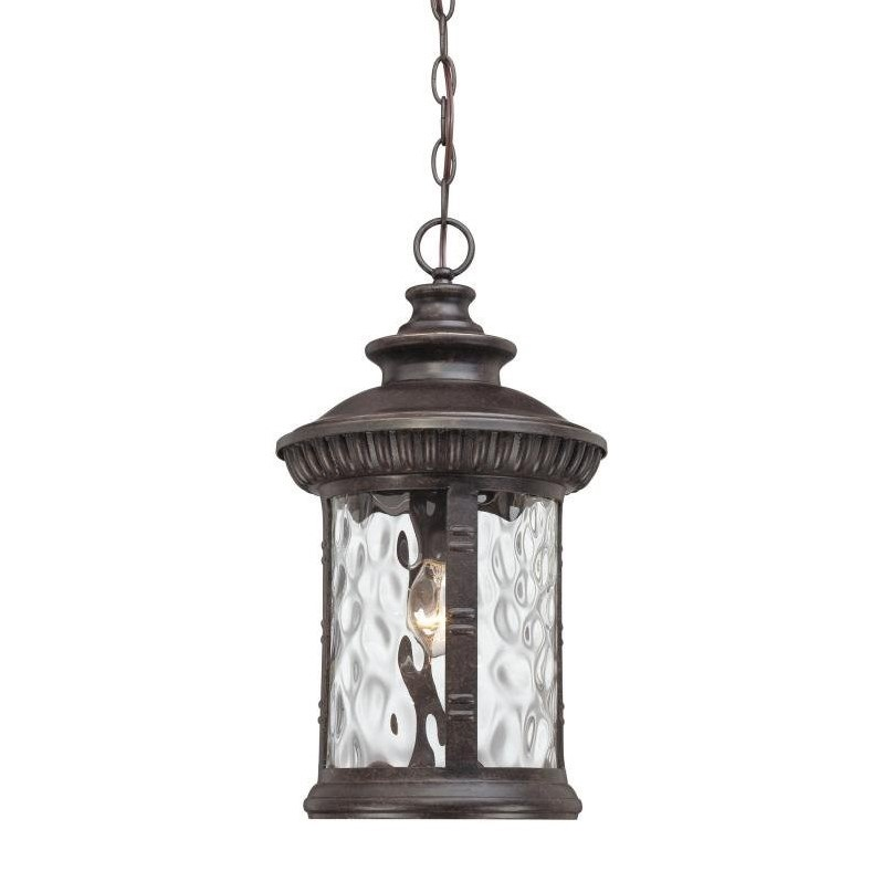 Quoizel Chimera Large Hanging Lantern in Imperial Bronze