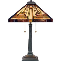 Quoizel Stephen Table Lamp in Vintage Bronze