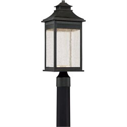 Quoizel Livingston Large LED Post Lantern in Imperial Bronze