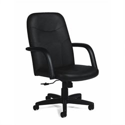 Offices To Go Leather Managers Office Chair
