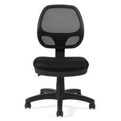 Offices To Go Mesh Back Armless Task Chair