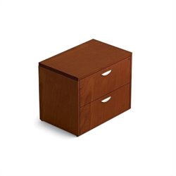 Offices To Go 2-Drawer Lateral File with Lock in Toffee