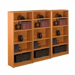 Offices to Go 4 Shelf Bookcase in American Cherry