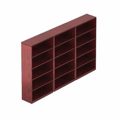 Offices to Go 5 Shelf Bookcase in Cordovan