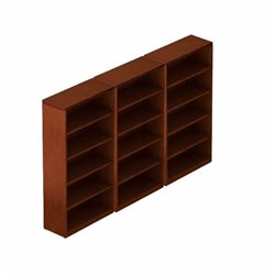 Offices to Go 5 Shelf Bookcase in Toffee