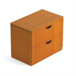 Offices to Go 2 Drawer Lateral Wood File with Lock in American Cherry