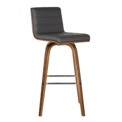 Armen Living Vienna Stool in Gray