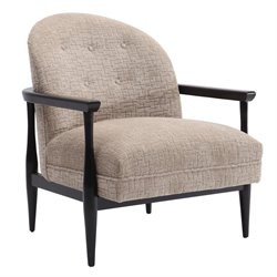 Armen Living Carlsbad Accent Chair in Sand