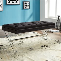 Armen Living Joanna Bench in Black