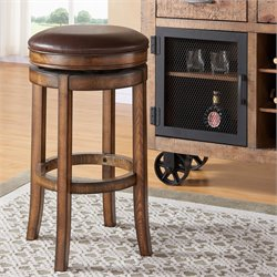 Phoenix Stool in Chestnut and Kahlua