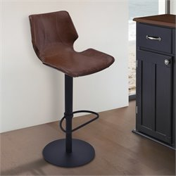 Zuma Adjustable Swivel Bar Stool