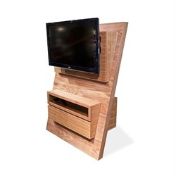 Armen Living Aspen TV Stand in Walnut