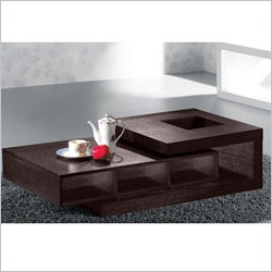 Armen Living 893 Coffee Table in Wenge