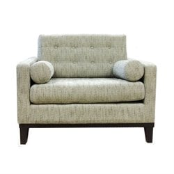 Armen Living Centennial Chair in Ash Fabric