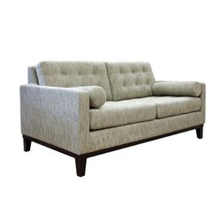 Armen Living Centennial Loveseat in Ash Fabric
