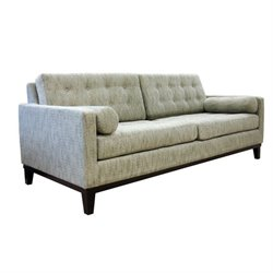 Armen Living Centennial Sofa in Ash Fabric