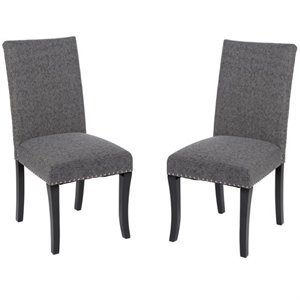 Accent Nail Dining Chair (Set of 2)