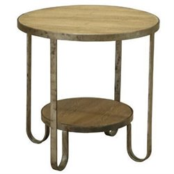 Armen Living Barstow End Table in Brown