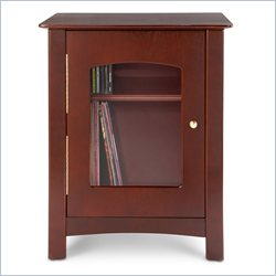 Crosley Radio Bardstown Entertainment Cabinet in Cherry