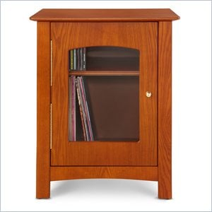 Crosley Radio Bardstown Entertainment Cabinet in Paprika