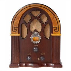 Crosley Radio Companion Tabletop Radio in Walnut