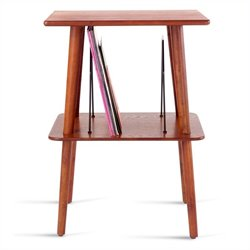 Crosley Radio Manchester Turntable Stand in Paprika