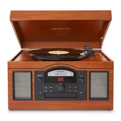Crosley Radio Archiver USB Entertainment Center Turntable in Paprika
