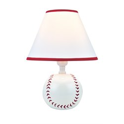 Lite Source Pitch Me Table Lamp in Red