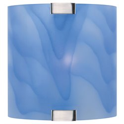 Lite Source Nimbus Vanity Light in Light Blue