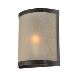 Lite Source Zerlam Vanity Light in Aged Bronze
