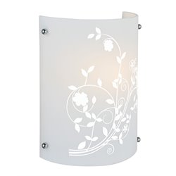 Lite Source Hanna II Vanity Light in Printed Frost