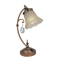 Lite Source Darcy Table Lamp in Brushed Copper