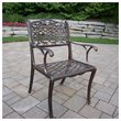 ADD TO YOUR SET: Oakland Living Mississippi Cast Aluminium Arm Chair