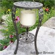 ADD TO YOUR SET: Oakland Living Grape Theme Interlock Plant Stand in Antique Bronze