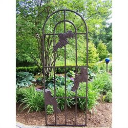 Oakland Living Grape Trellis in Hammer Tone Brown
