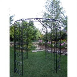 Oakland Living Garden Gazebo in Hammer Tone Brown