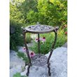 Oakland Living Frog Table Plant Stand in Antique Bronze