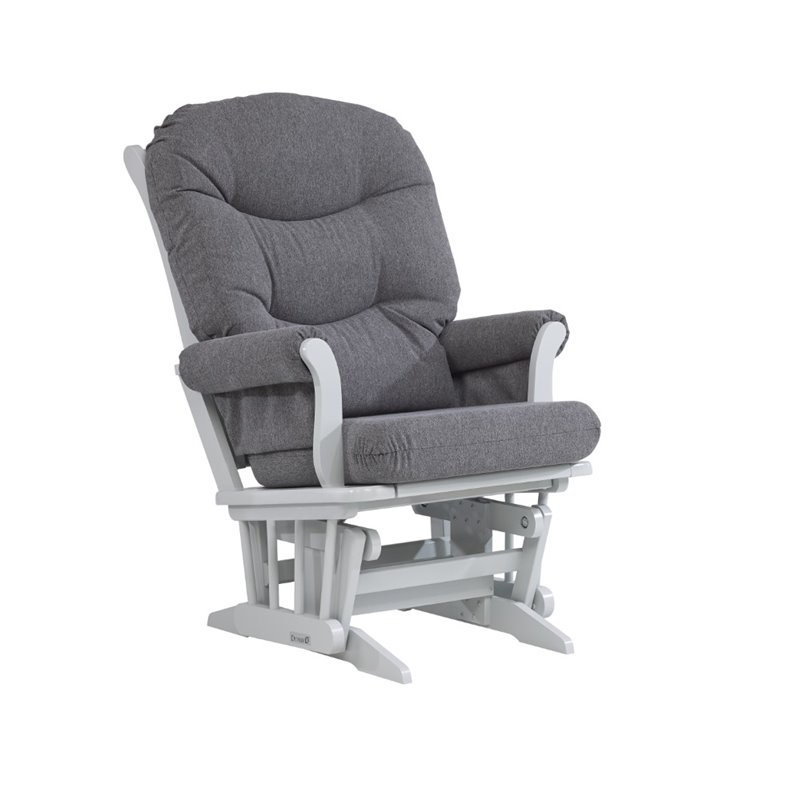 Dutailier glider in dark gray d00 61a 40 3128 for Chaise dutailier