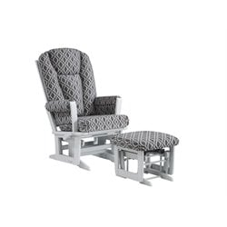Dutailier Ultramotion Multiposition Glider and Ottoman