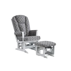 Dutailier Ultramotion Multiposition Glider and Ottoman Set