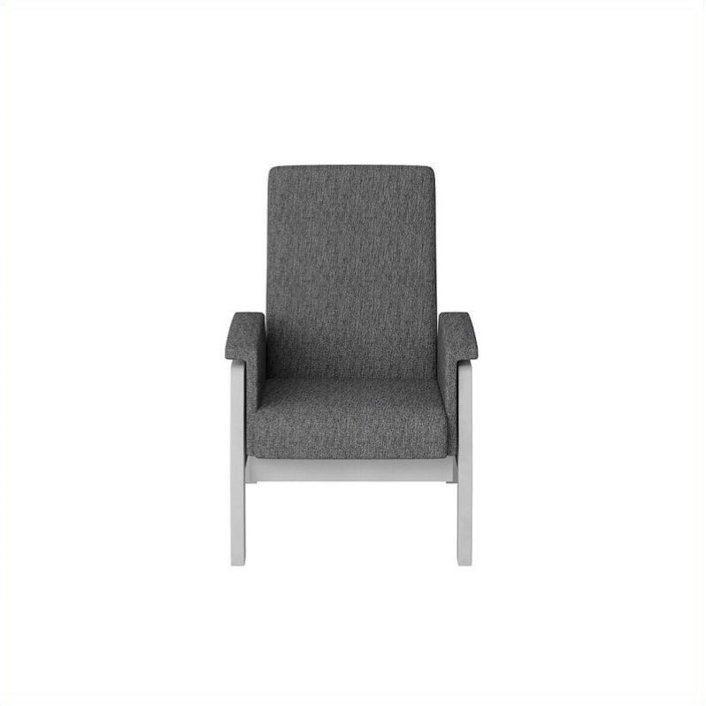 Dutailier california urban glider in ash gray with gray for Chaise dutailier