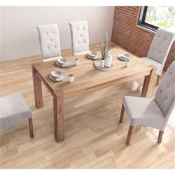 ZUO Lexington Dining Table in Natural Elm