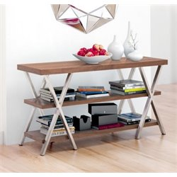 ZUO Renmen Console Table in Walnut